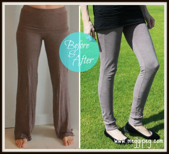 Refashion yoga pants into leggings by meggipeg | Project | Sewing ...