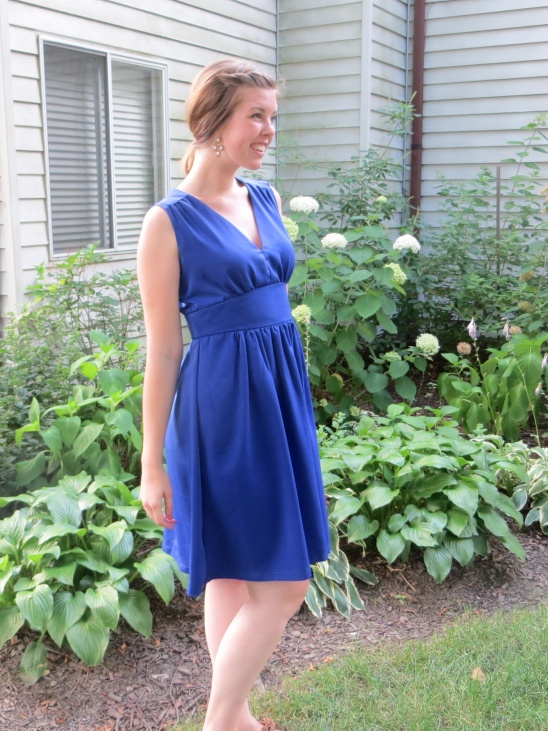 f34095bee2d Royal Blue Wedding Guest Dress by Sally (thequirkypeach)