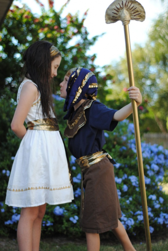 Diy Egyptian Costumes By Dandelion Drift Project Sewing