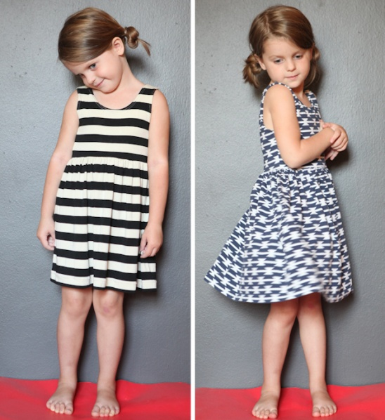 Knit Toddler Dresses By True Bias Project Sewing Kids Baby