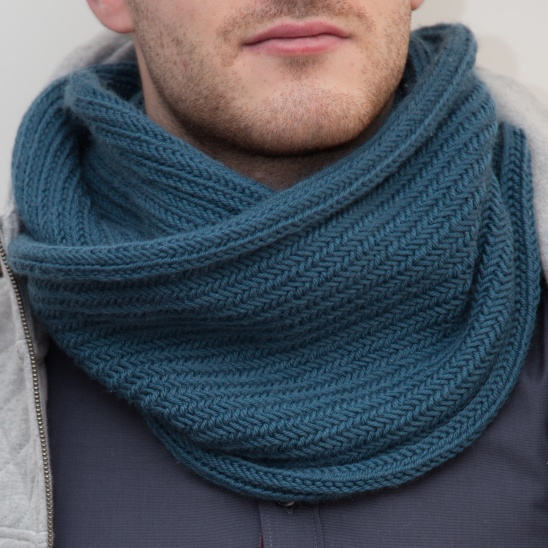 Big Herringbone Cowl By Touteenfouinesse Project Knitting