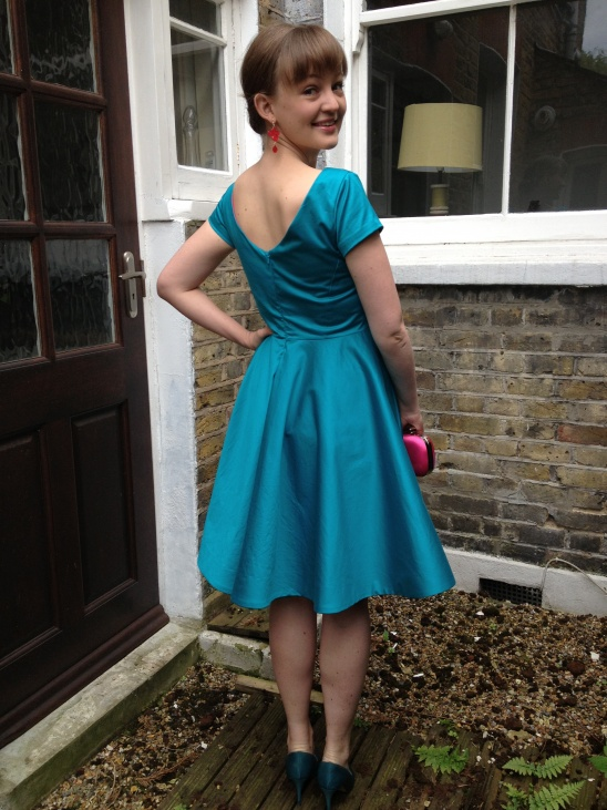 Circle skirted elisalex dress by fiona project sewing for Tk maxx dresses for weddings