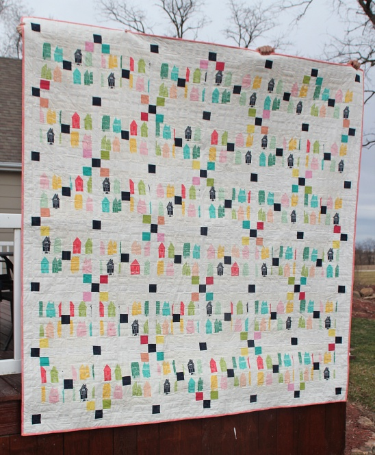 Irish Chain- House quilt by Girls in the Garden Project Sewing Quilting / Quilts Kollabora