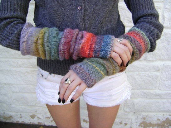 Knitted Arm Warmers By Sheila Zachariae Project Knitting
