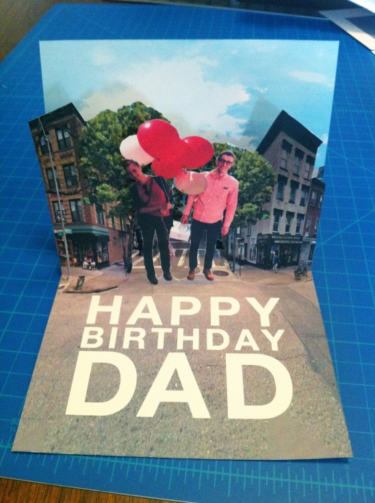 Pop Up Card For Dad By Alexis Winslow Project Papercraft Cards