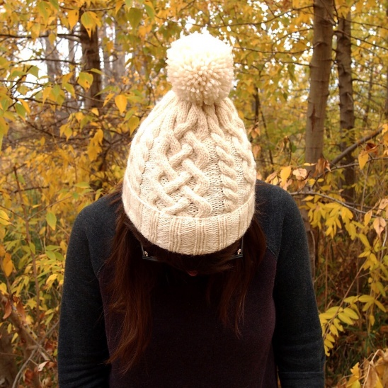 d4d94f081c3 Traveling Cable Hat by Ainsley