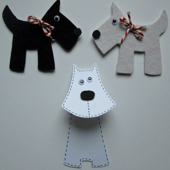 After school craft club scotty dogs by sew silly lily for Dog craft ideas