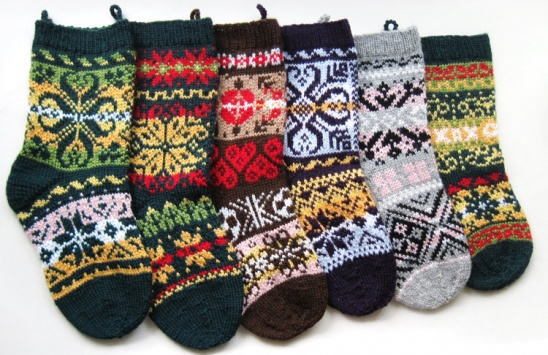 norwegian christmas stockings by Anne Mende / Pumora | Project | Knitting | Home Decor / Decorative | Holiday | Kollabora