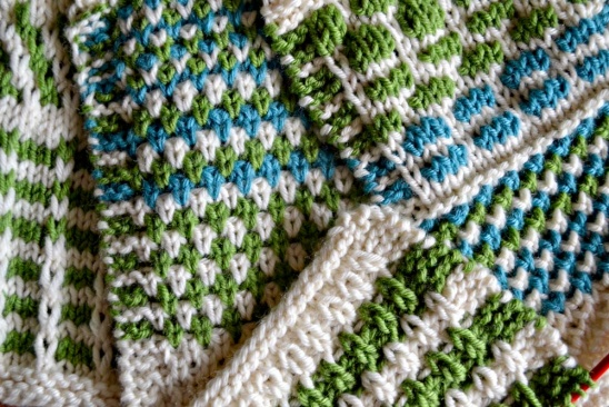 Knit Stitch One Row Below : slip stitch pattern samples by Anne Mende Project Knitting / Blankets &am...