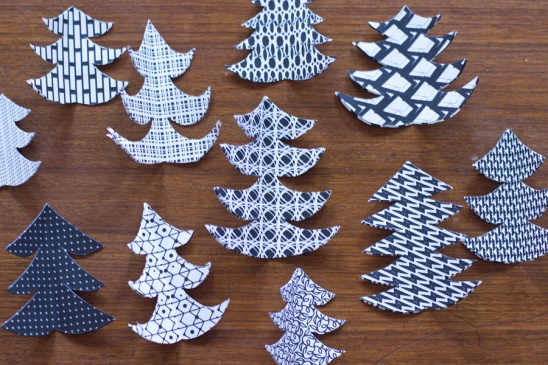 3D Paper Christmas Tree Mobile By Sarah Project Papercraft  - Make 3d Christmas Tree
