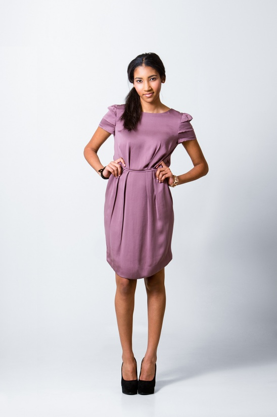 Stella Dress and Peplum Top by Sarah // Pattern Runway | Project ...