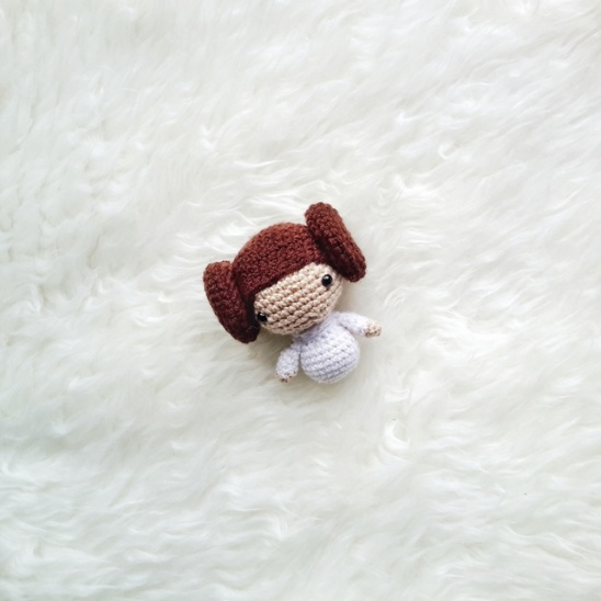 Princess Leia amigurumi | I've updated this pattern to impro… | Flickr | 548x548