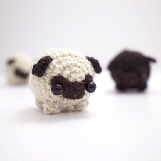 Crochet pug amigurumi by mohu Project Crochet ...