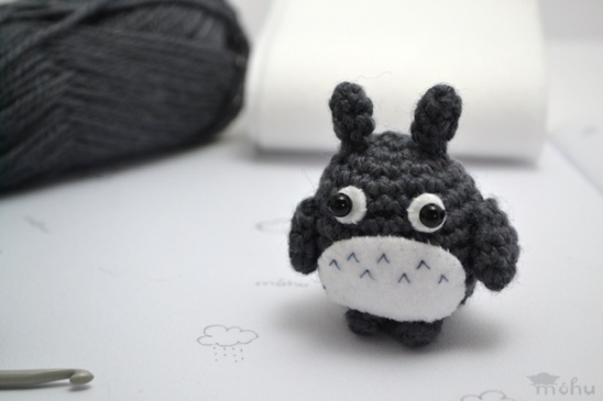 Totoro and Soot Sprites Crochet Pattern With Video | 365x548