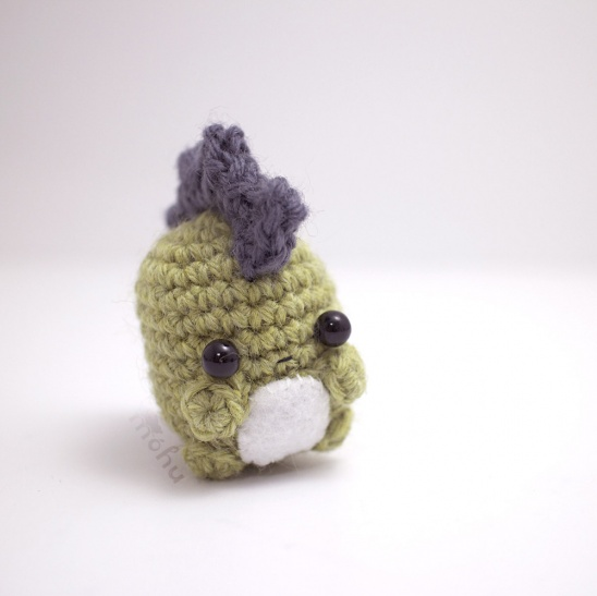 Kawaii bee amigurumi | A little crocheted bee amigurumi ... | 547x548