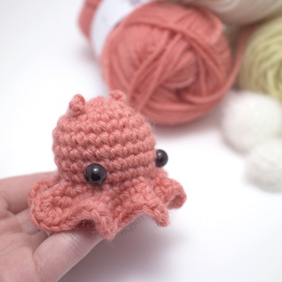 orange dumbo octopus by mohu | Project | Crochet / Kids & Baby | Toys ...