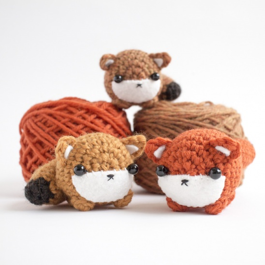 Crochet Amigurumi Fox Free Patterns & Tutorials | Crochet animals free  patterns, Crochet fox pattern free, Crochet patterns amigurumi | 548x548
