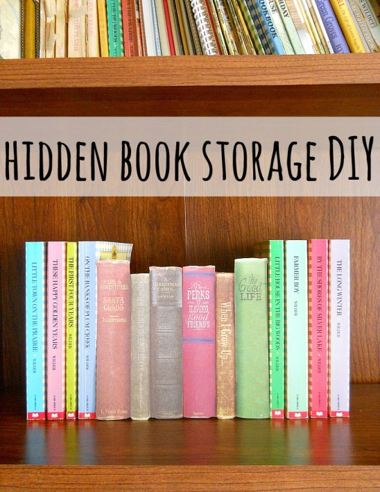 DIY Hidden Storage By Running With A Glue Gun | Project | Home Decor |  Papercraft / Decorative | Kollabora