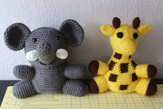 Crochet Elephant Softie and More Free Patterns Tutorials | Patrón ... | 365x548
