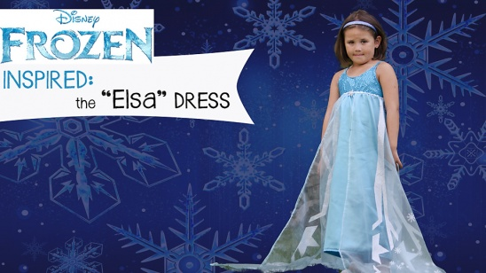 Elsa Inspired Dress (Frozen) by sewplicity | Project | Sewing / Kids ...