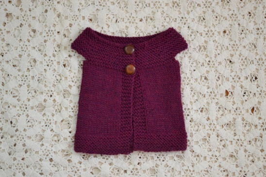 Knitted Baby Vest By Esther Project Knitting Vests Kollabora