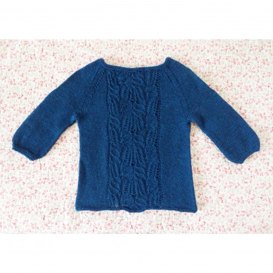 ce34942e6 Little Blue Sweater by Esther