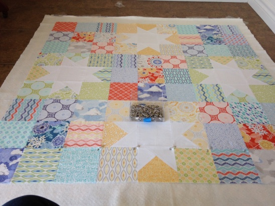 Sunnyside Baby Quilt by Bonnie | Project | Quilting / Kids & Baby ... : star baby quilt - Adamdwight.com