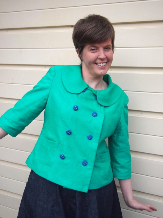 Colette Patterns Anise Jacket By Ruth Nightingale Dolittle Extraordinary Colette Patterns