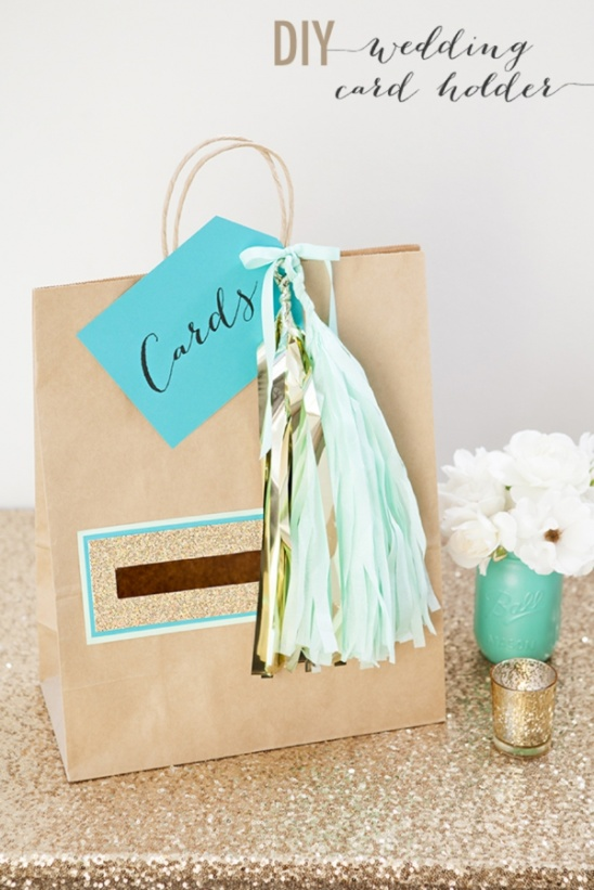 Diy Wedding Card Holder Gift Bag By Jen Carreiro Project Papercraft Weddings Kollabora