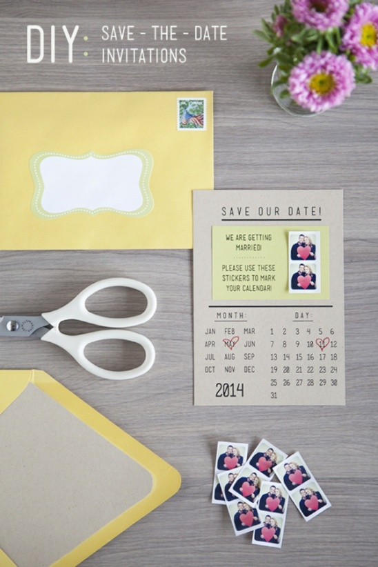 instagram save the dates by jen carreiro project papercraft