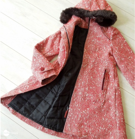 Functional Winter Coat By Yuki Waffle Patterns Project Sewing