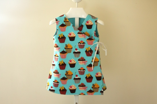 Party Time Wrap Dress By Heather From Piggy And Bear Project