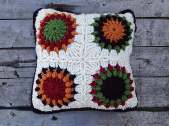 Granny CircleinaSquare Pillow Cover By Maggie McGuire Project Unique How To Crochet A Pillow Cover