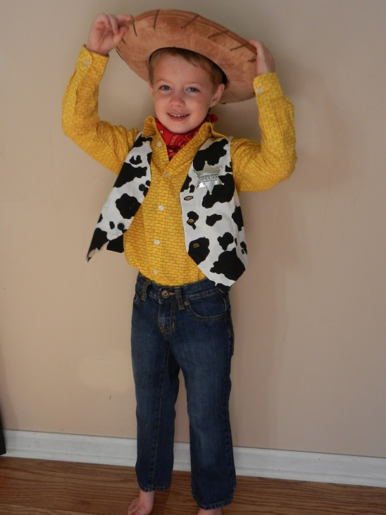 My son wanted to be Sheriff Woody from Toy Story for Halloween this year. I made the Ethan shirt from Sis Boom Patterns and the Art Museum Vest from Oliver ...  sc 1 st  Kollabora & Sheriff Woody Costume by Teri Gerber Dodds | Project | Sewing / Kids ...