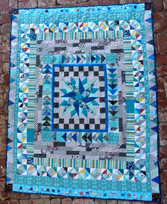 Medallion quilt by Leah   Project   Sewing   Home Decor   Quilting ... : medallion quilt - Adamdwight.com