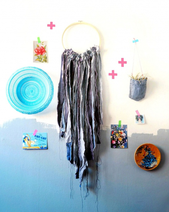 Blue Jeans Wall Hanging By Hipaholic