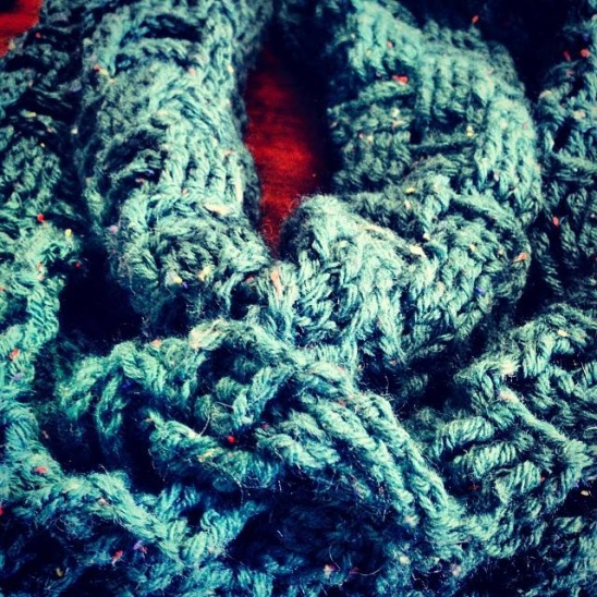 Basket Weave Infinity Scarf By Erica Wand Project Crochet