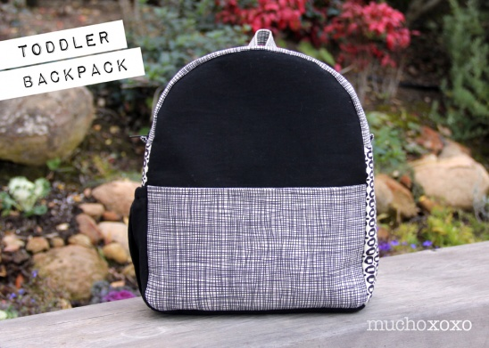 Toddler Backpack By Mucho Xoxo Project Sewing Accessories