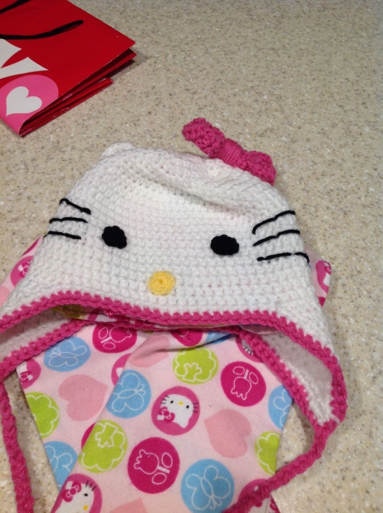 Hello Kitty Hat Scarf By Lydia Varona Trainor Project Sewing