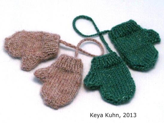 Mini Mittens Free Pattern By Keya Project Knitting