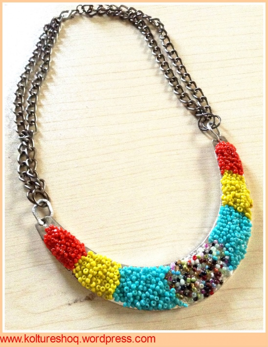 Diy Seed Beads Amp Metal Necklace By Koltureshoq Project