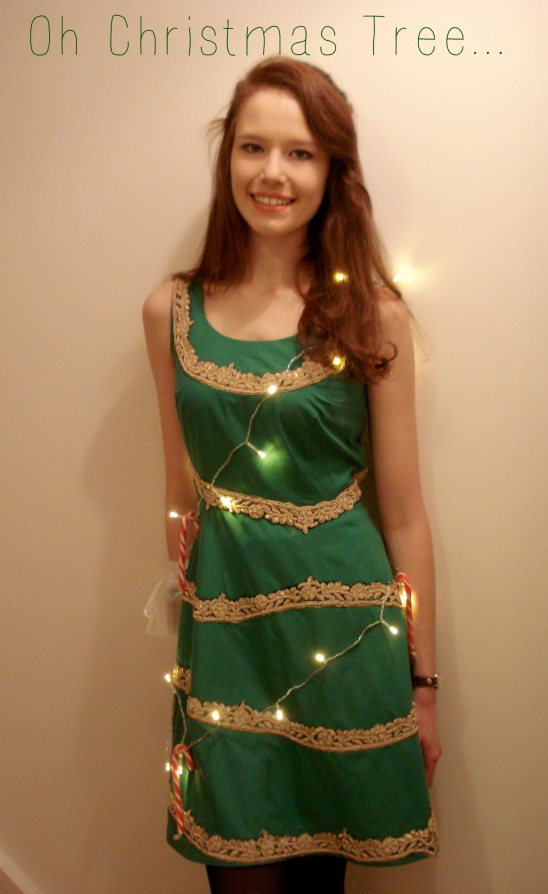christmas tree party frock by anne w project sewing dresses holiday kollabora - Christmas Dress Up
