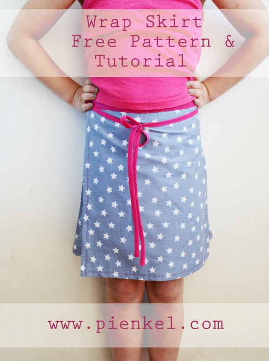 Wrap Skirt - Free Pattern by Nienke @ Pienkel | Project | Sewing ...