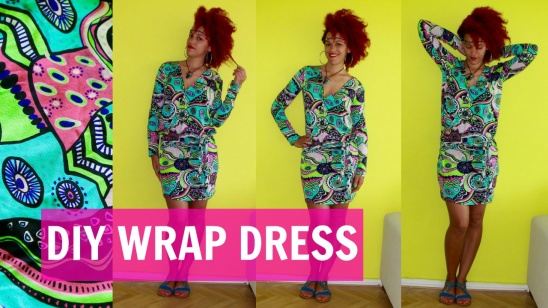 DIY Wrap Dress + How To Sew Sleeves by jocelina | Project | Sewing ...
