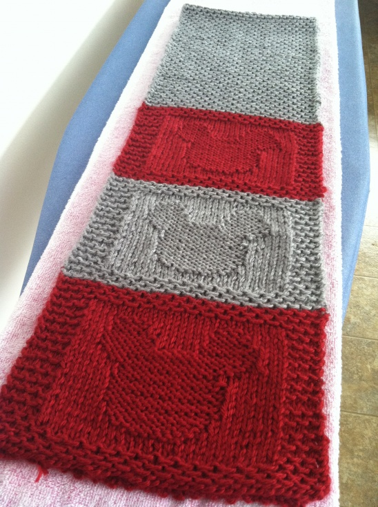 Mickey Mouse Scarf By Rocio E Van Houten Project Knitting