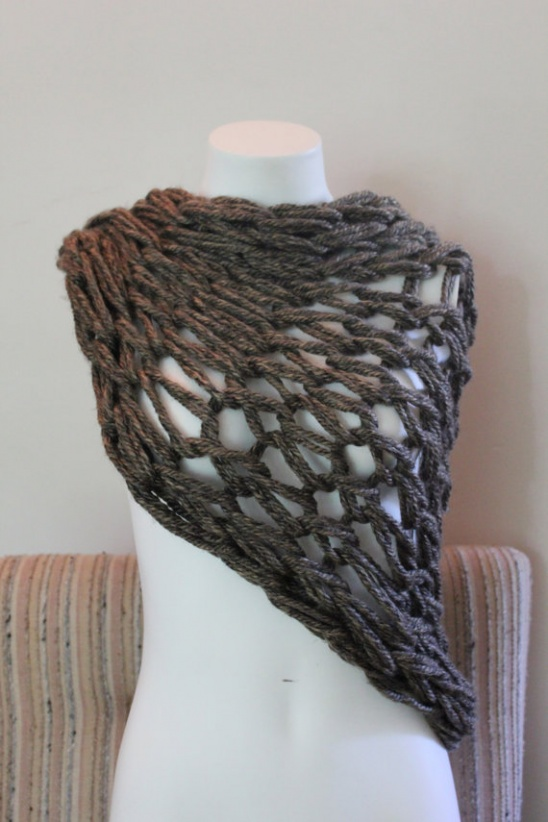Marble Granite Cowl By Blue Specs Studio Project Knitting