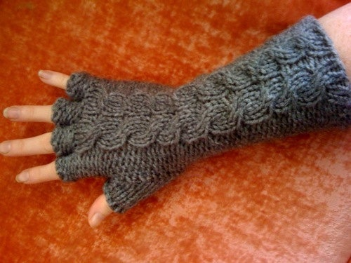 Edward Gorey Fingerless Gloves Knitting Pattern Supply Patterns