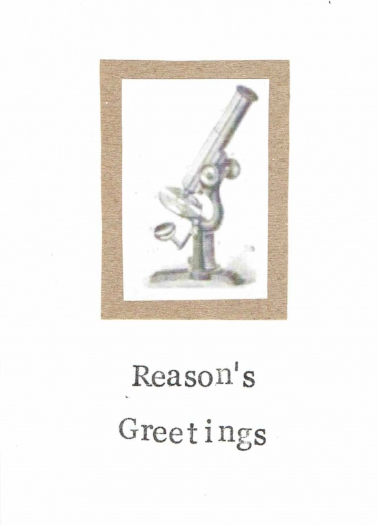 Reasons greetings atheist science holiday card by carrie martin reasons greetings atheist science holiday card m4hsunfo