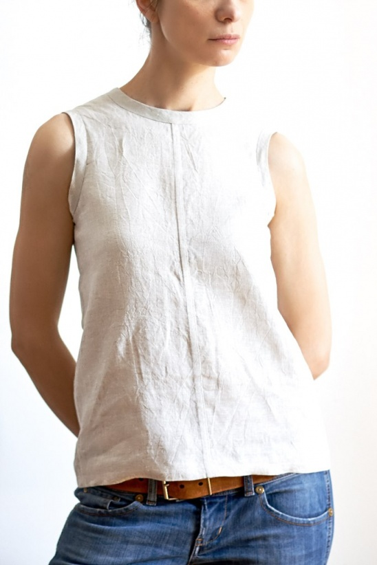 Simple Linen Top by Sasha | Project | Sewing / Shirts, Tanks, & Tops ...