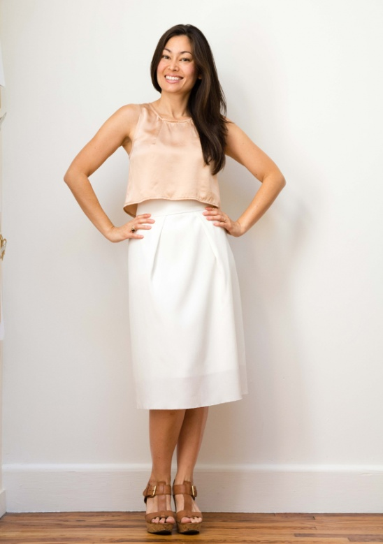 The Tate Top + Midi Skirt by Jennifer, Workroom Social | Project ...